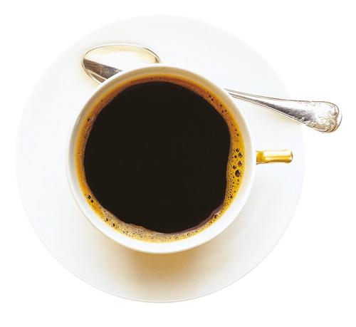 Kaffekopp ovanifrån