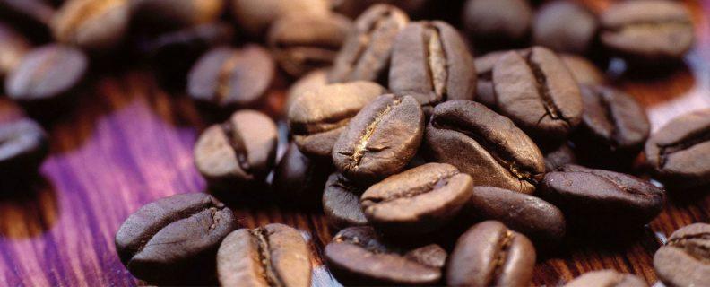 Kaffebönor-rostade