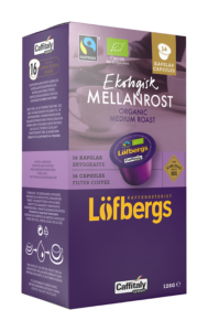 Mellanrost kapsel ekologisk fairtrade 16-pack
