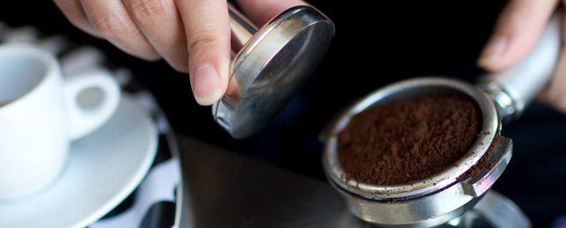 Barista med espresso
