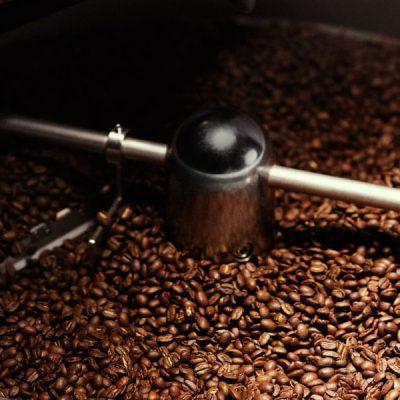 Mikrorost med rostat kaffe