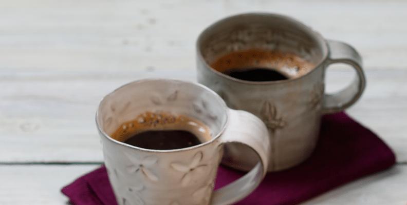 Två-koppar-kaffe