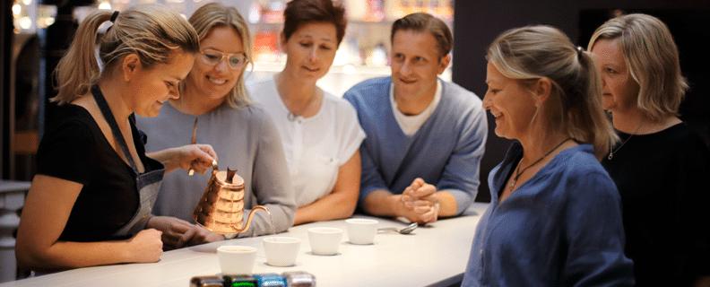 Kaffeprovning Löfbergs Stockholm