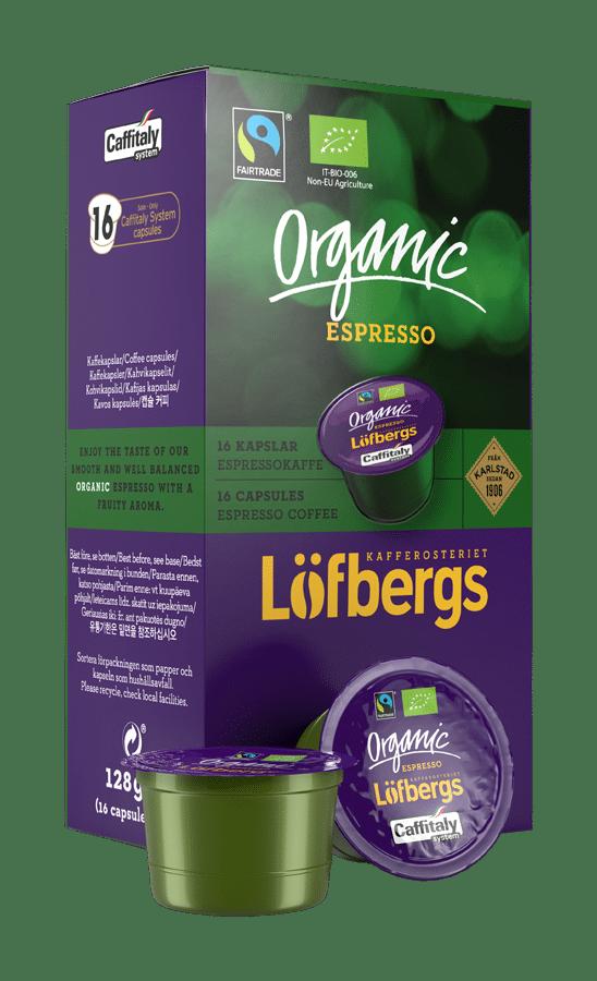 Organic espressokapsel