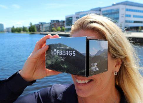 Löfbergs VR-glasögon Almedalen