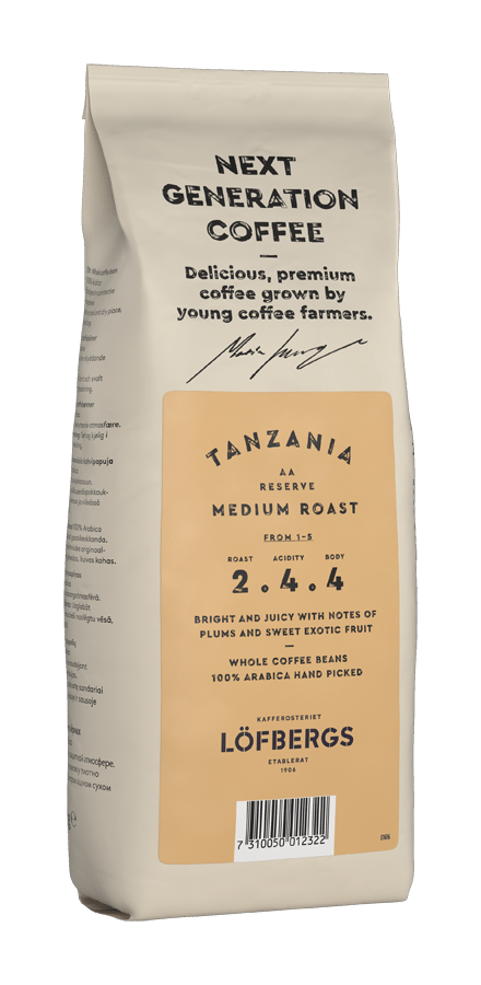 Next generation coffee Tanzania Medium Roast