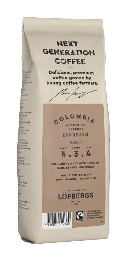 Next Generation Colombia Espresso