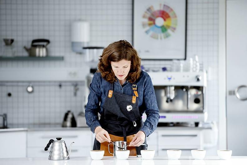 Anna Nordström på Löfbergs har koll på kaffetrender