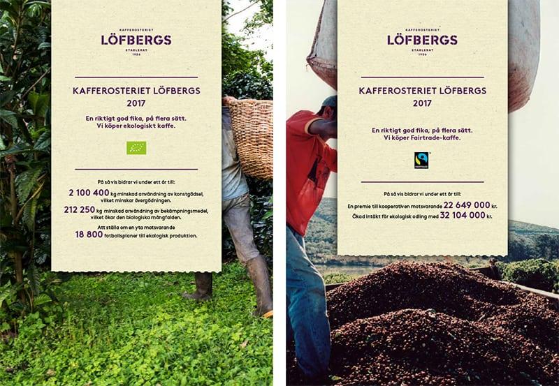 Du gör skillnad när du väljer certifierat kaffe från Löfbergs