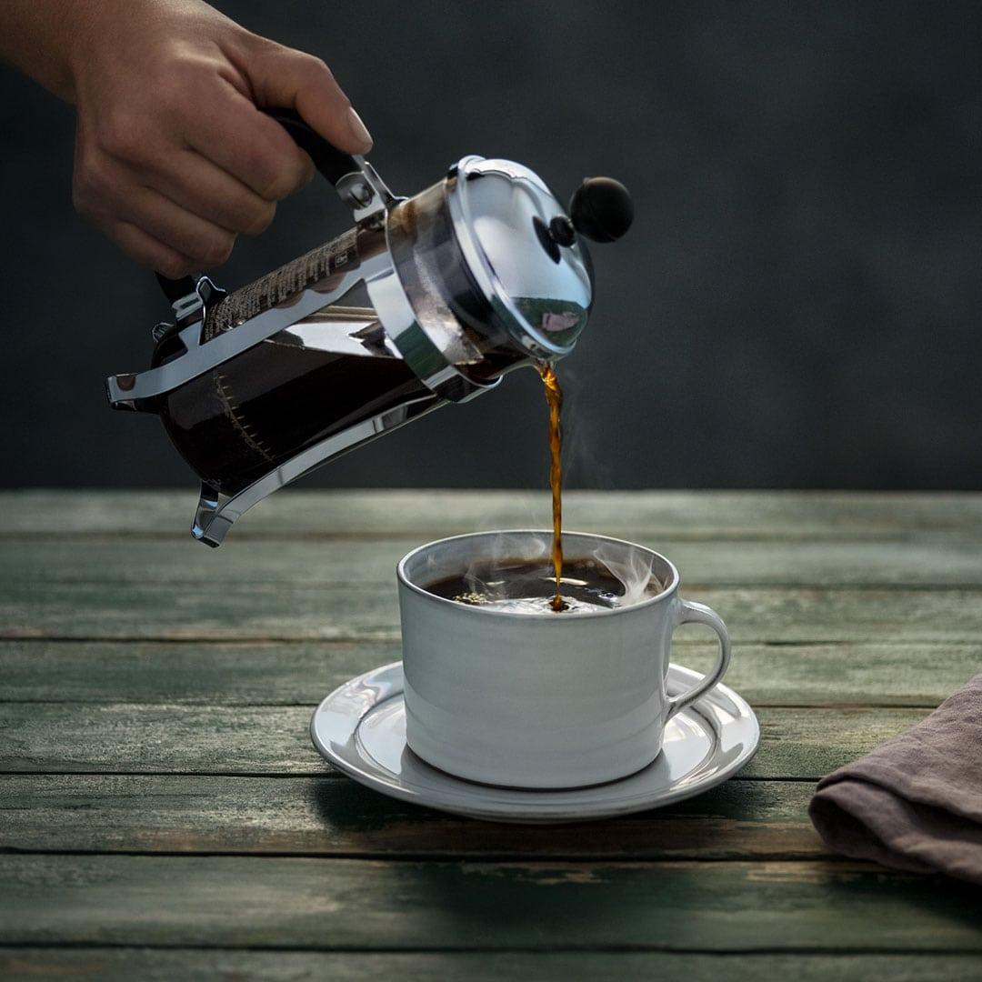 kaffe koffein per 100 ml